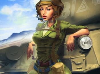 Tank Pinup Girl